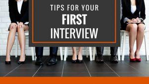 first job interview